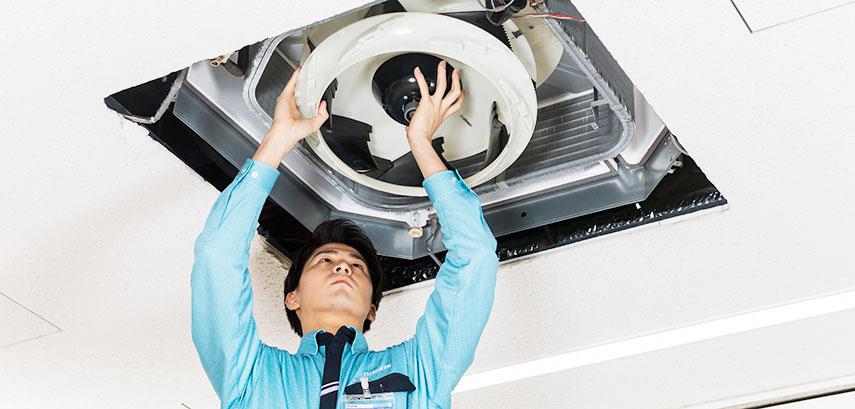 気になる部分のお掃除から施設全体のトータルクリーニングまでお任せください。