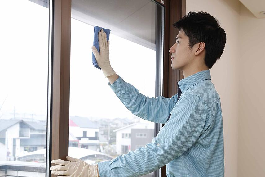 窓・ガラスクリーニング